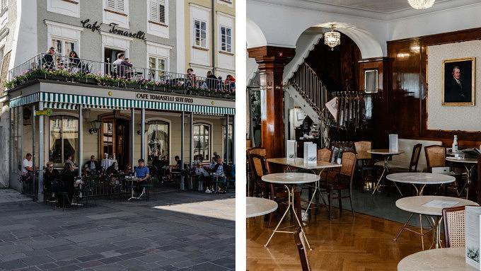 Salzburg, Café Tomasellli