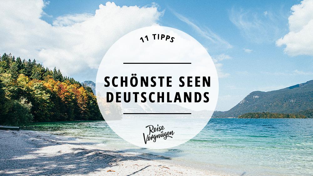 Badeseen Deutschland