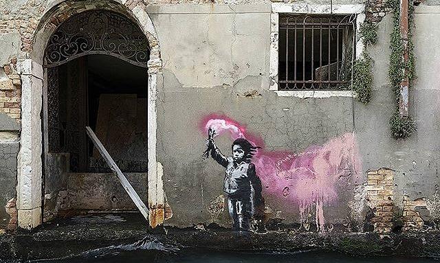 Banksy Venedig