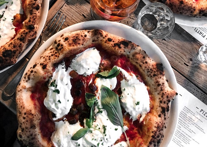 Pizza_Mercato Centrale Roma_Rom_ Italien