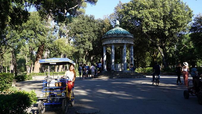 Villa Borghese_Rom_Italien