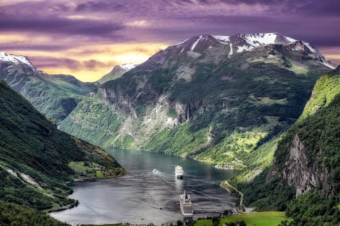 fjords norwegen