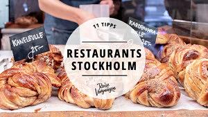 Restaurants Stockholm