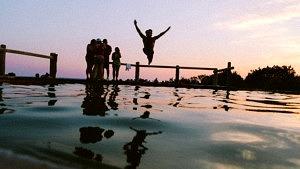 Sommerferien Sommer Pool