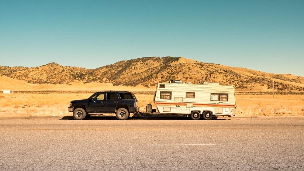 Wohnwagen camping