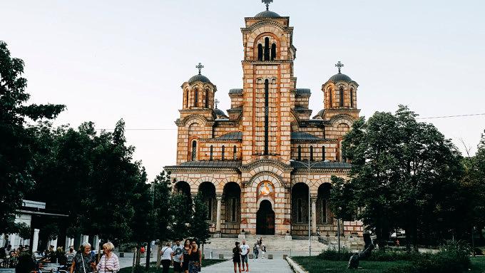 Belgrad Serbien Kirche Markus