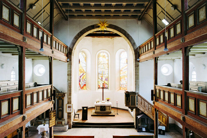 Her(r)bergskirche Neustadt am Rennsteig, fotografiert im Juli 2018