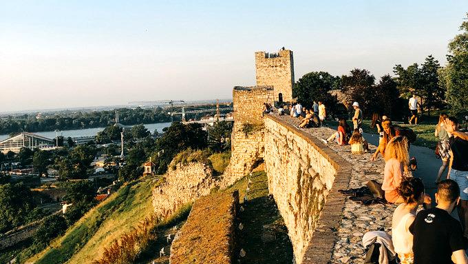 Belgrad Serbien Festung