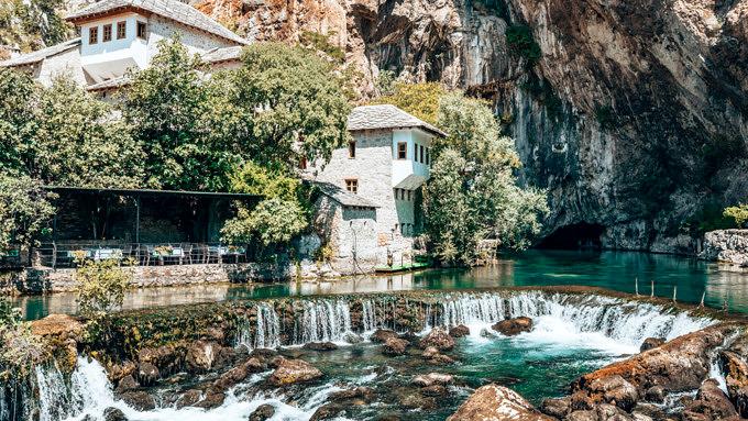 bosnien und herzegovina, blagaj derwisch tekke