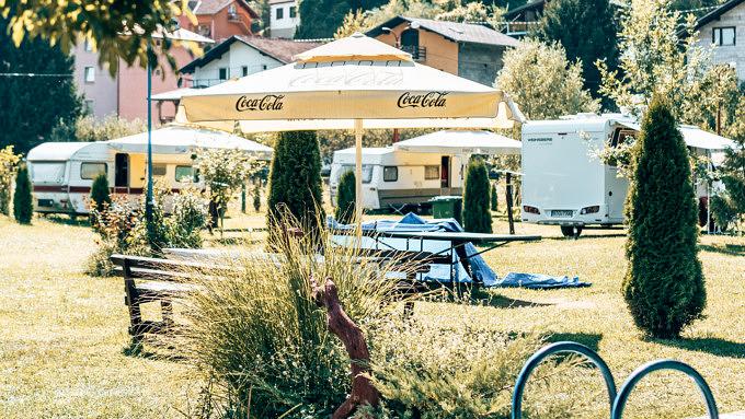 bosnien und herzegovina, camping lav kulen valuf