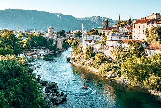 bosnien und herzegovina, mostar
