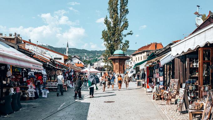 bosnien und herzegovina, sarajevo