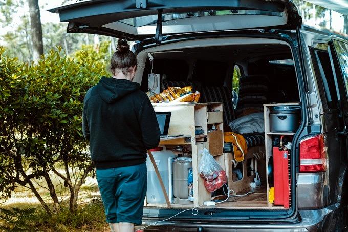 camping Anfänger packen