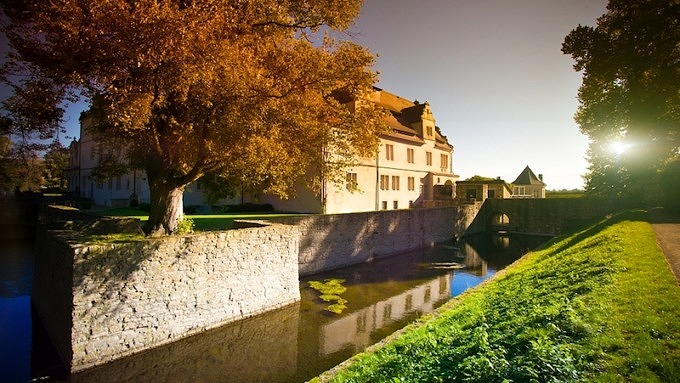 Schlösser Deutschland, Herbststimmung Schlosshotel Münchhausen_Deutschland