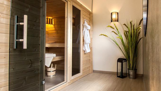 Hotel Strandkind, Unterkünfte mit Sauna