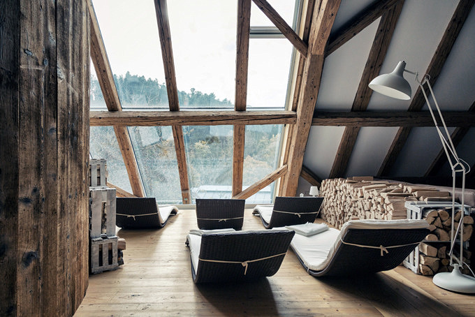 Rainhof Scheune, Unterkünfte mit Sauna
