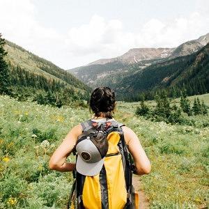 backpacking, rucksack, packen