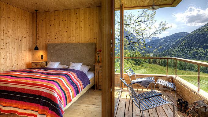 Tannerhof, Unterkünfte mit Sauna