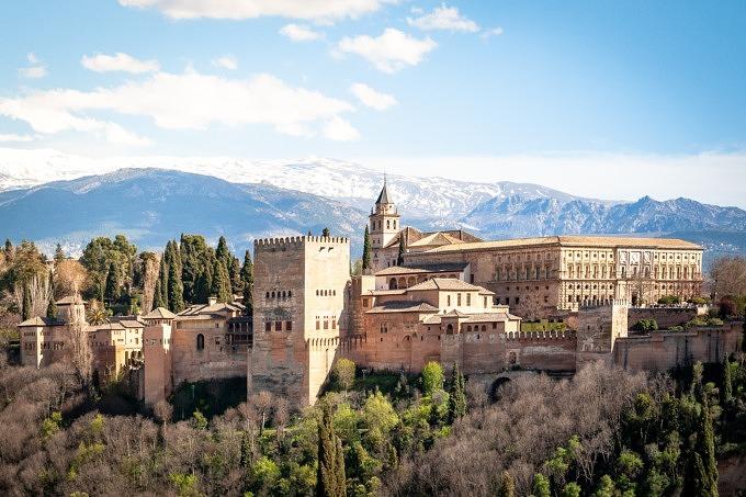 alhambra, sierra nevada