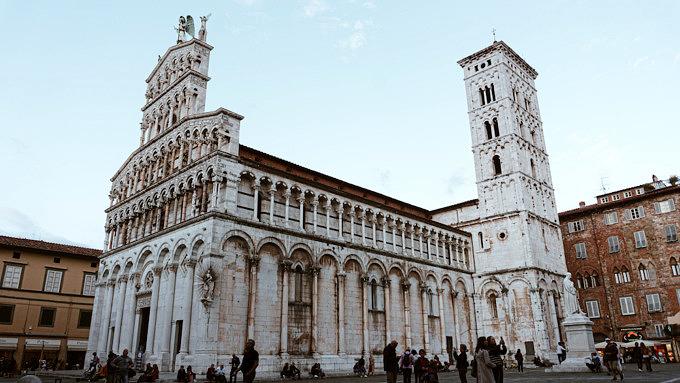 Lucca_Fresken_San Michele in Foro