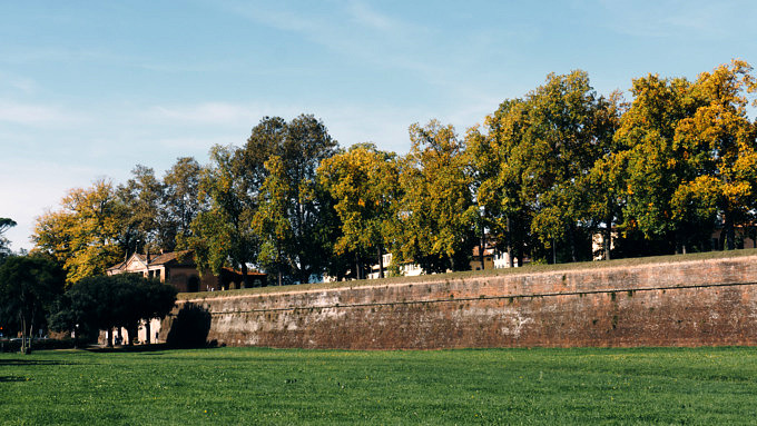 Lucca_Stadtmauer