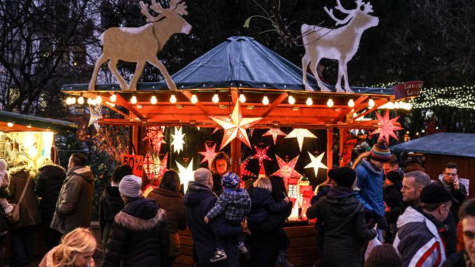 Weihnachtsmarkt im Stadtgarten