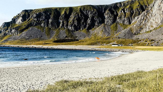 Lofoten Norwegen Urlaub UnstadBeach