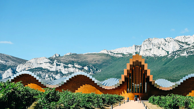 Weinkellerei Bodegas Ysios, Nordspanien
