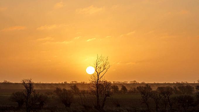 Sonnenaufgang, Fehmarn, Ostsee