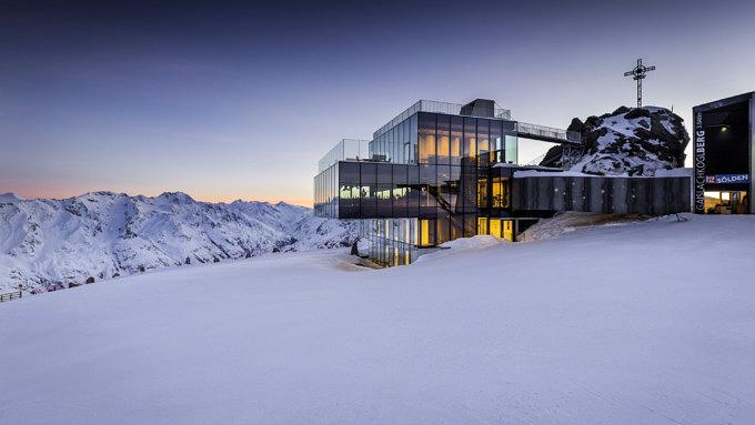 Gebäude Alpen, iceQ