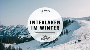 Interlaken Winter Schweiz