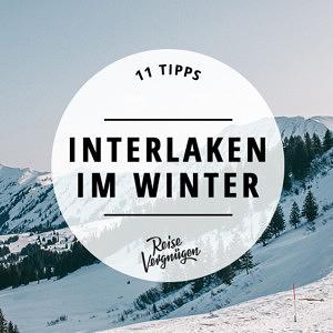 Interlaken Winter Schweiz