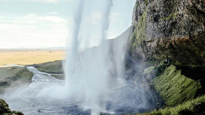 Seljalandsfoss, Island Natur