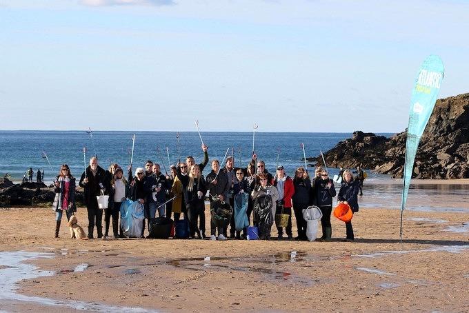 Müll sammeln_Beach Guardian_Cornwall_England