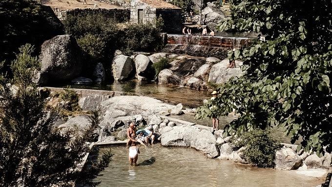 Serra da Estrela, Praia Fluvial do Sabugueiro