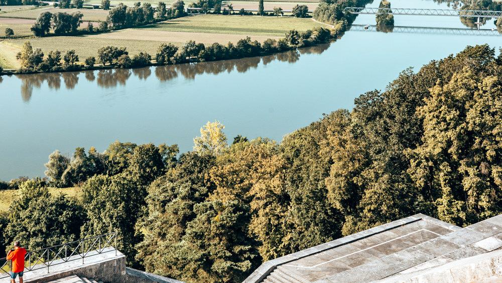 Heimaturlaub, Regensburg, Valhalla