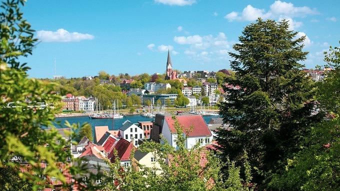 Flensburg, Kleinstädte in Deutschland