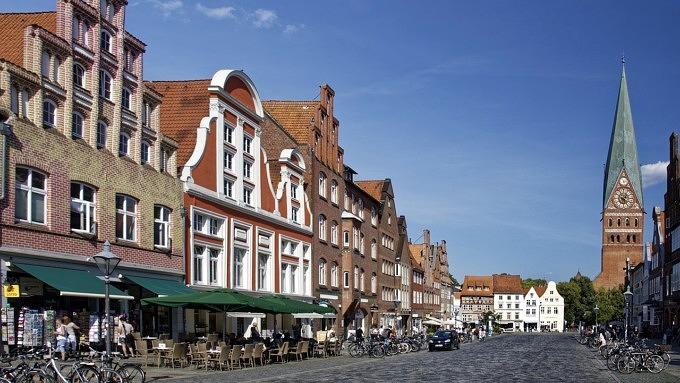 Lüneburg, Lüneburg am Stint