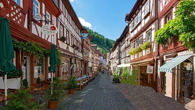 Radtouren in Deutschland, Miltenberg