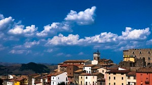 Molise, San Giovanni in Galdo, Italien