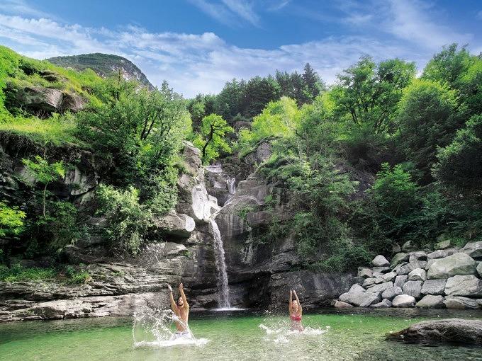 Sommerferien in Tessin