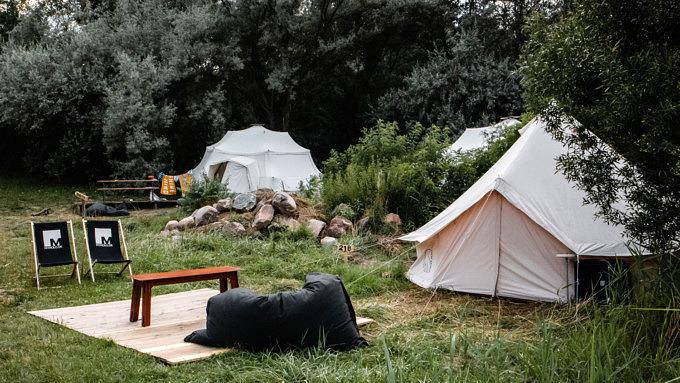 Camp Moeve, Glamping, Gräbendorfer See, Brandenburg