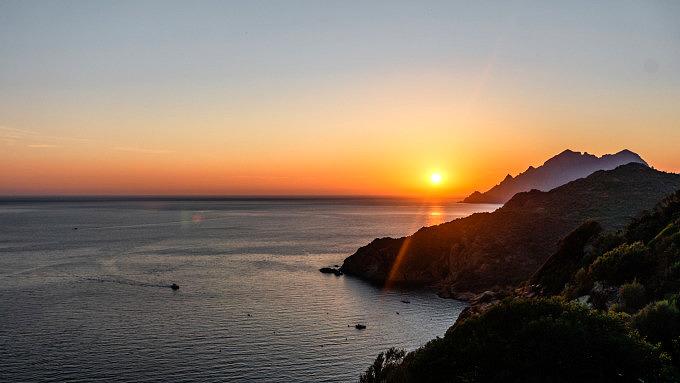 Sonnenuntergang_Korsika_Frankreich