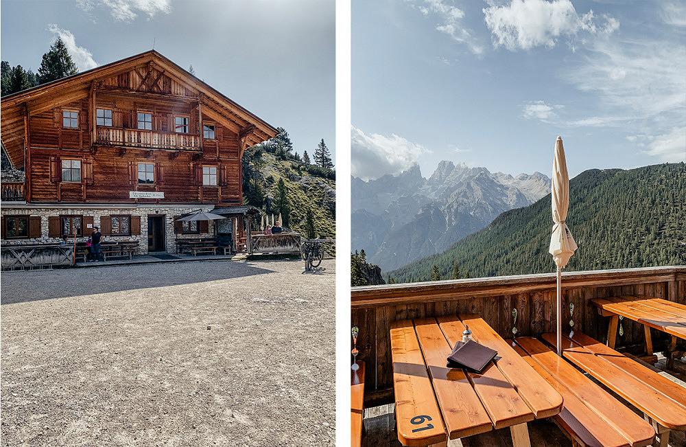 Alpenüberquerung, dürrensteinhütte