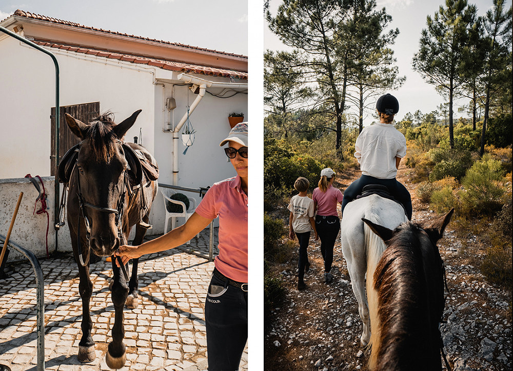 Unplanned Überraschungsreise, Portugal, centro hipico de alcaria