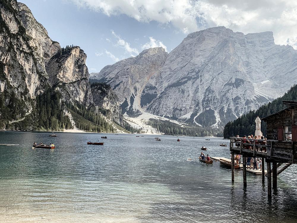 Alpenüberquerung, Pragser Wildsee