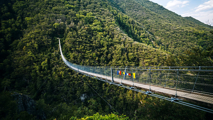 Ponte Tibetano Carasc