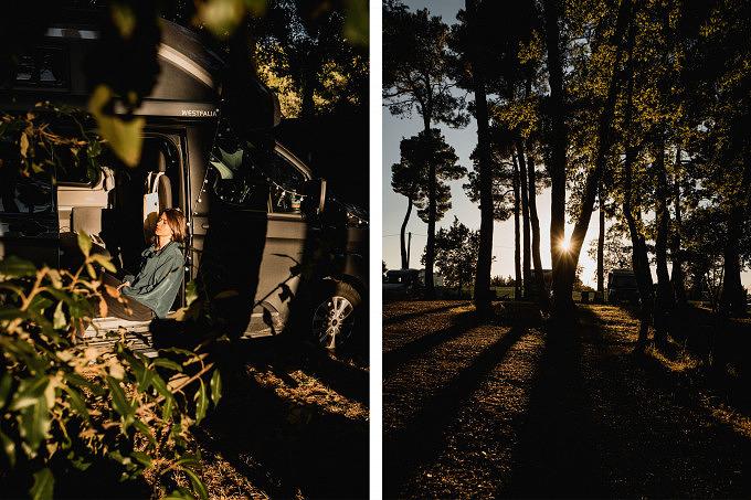 Camping Apulien, Ford Nugget, Apulien, Italien