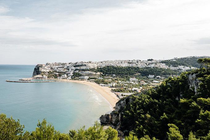 Italien, Apulien, Peschici