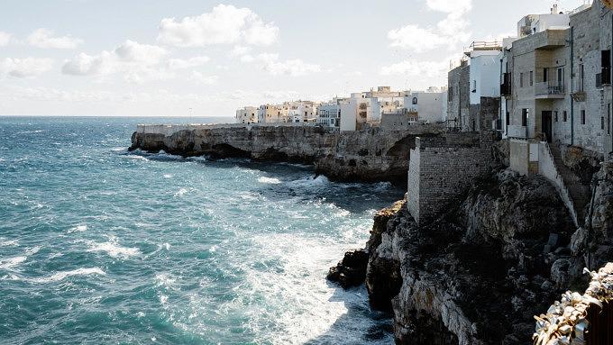 Italien, Apulien, Polignano a Mare